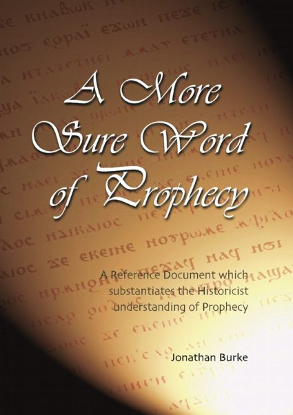 books by christadelphians    a more sure word of prophecy